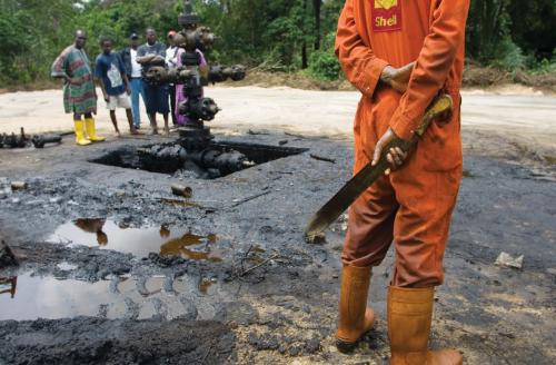 защо Център за коулаж на Нигера Делта?